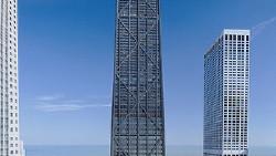 芝加哥景点-约翰·汉考克大厦(John Hancock Center)