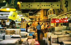 东京美食-筑地市场