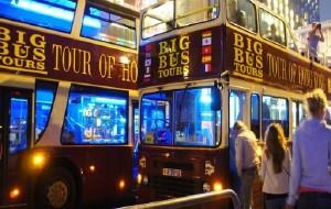 香港娱乐-香港大巴士夜游