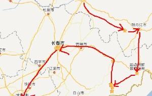 【东北图片】每天都在拼命赶路:2014哈尔滨-雪谷、雪乡-延吉、图们-长白山-长春-沈阳 大东北11日游
