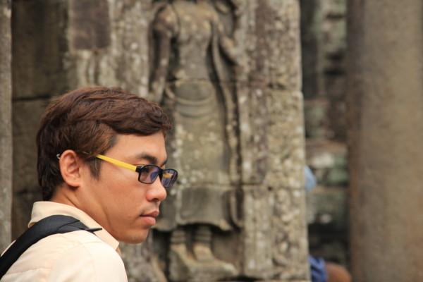 风尘仆仆柬埔寨图片