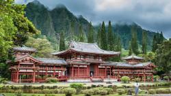 夏威夷景点-神庙谷(Valley of the Temples Memorial Park)