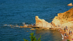 长岛景点-望夫礁