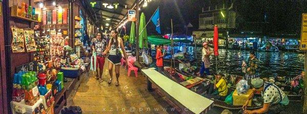 泰国看你】曼谷四面佛还愿+水上市场+普吉纹身+皇帝岛深潜+清迈万人图片