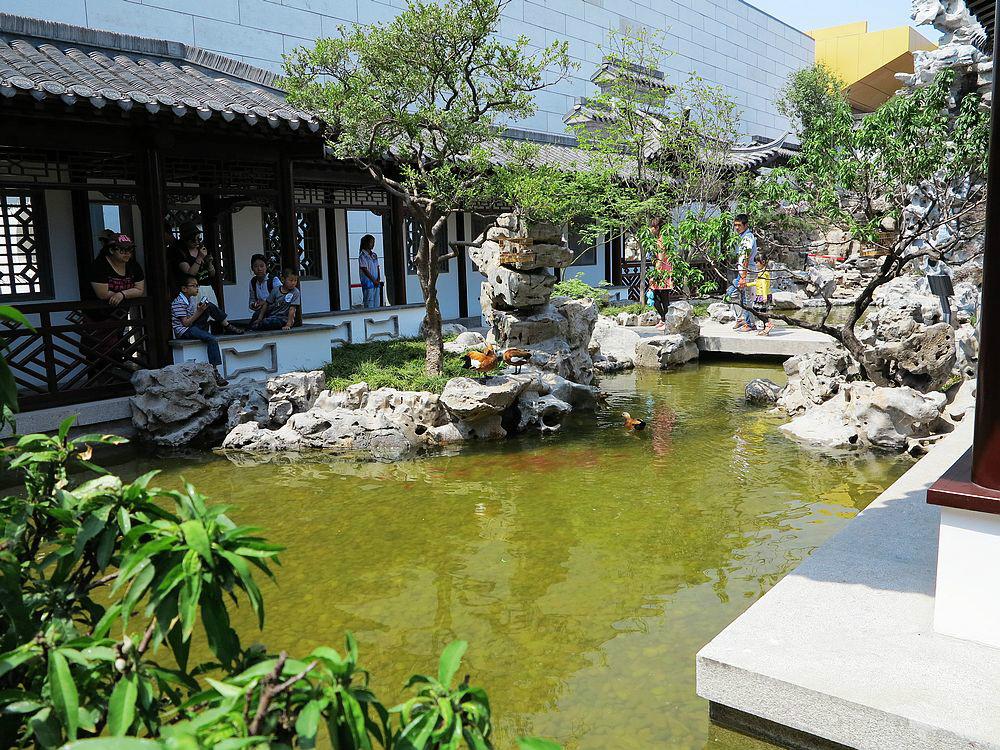 中国园林博物馆的室内展园