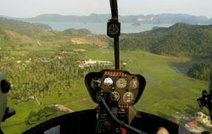 兰卡威娱乐-鸟瞰兰卡威(乘直升机)