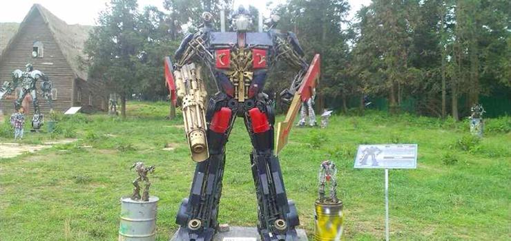 """武隆仙女山""""变形机器人""""展"""