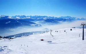 【保加利亚图片】【瑞士】滑雪胜地-克莱恩·蒙塔纳
