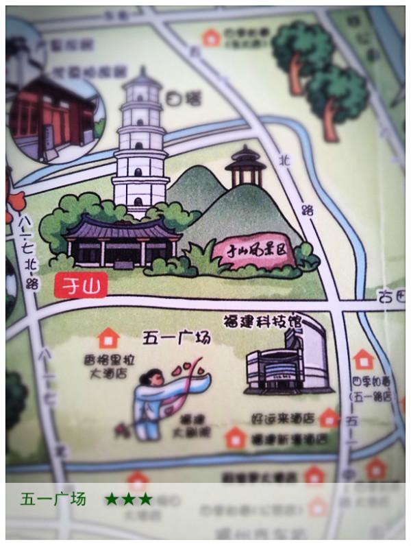 〔福州〕手绘地图上的旅行,福州旅游攻略 - 马蜂窝