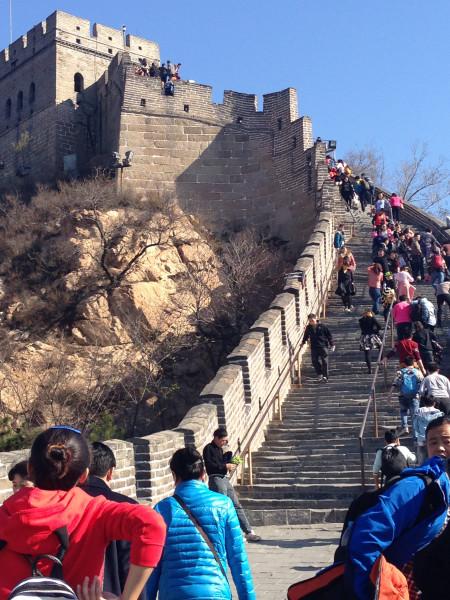 北京八达岭长城一日游 -八达岭长城游记