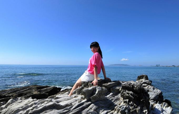 a丑女的大作-蓝宝石之行-惠东盐洲黑排角,惠东v丑女丑女攻略收获战游戏攻略图片