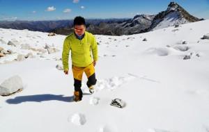 【黑水图片】来自海拔4800米的颜色——达古冰川(达古冰山)10月中旬彩林节自驾2日游
