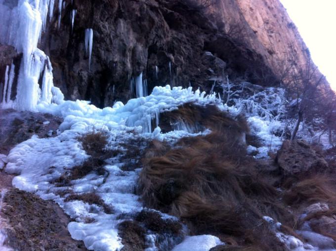 邢台仙界山冰瀑---老道旮旯村,邢台旅游攻略 - 蚂蜂窝