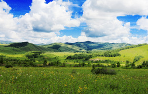【呼伦贝尔图片】壮美呼伦贝尔的草原足迹