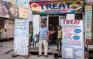 阿格拉美食-Treat Restaurant