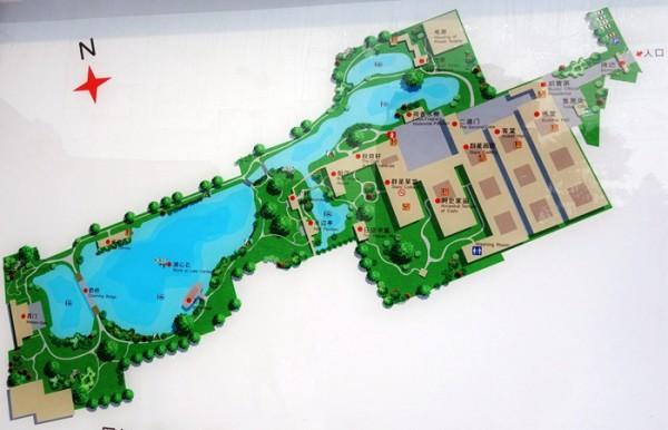 清晖园平面图高清