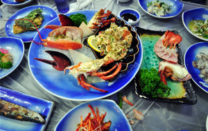 韩国美食-札嘎其市场