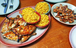 伦敦美食-Nando's (Kings Cross)
