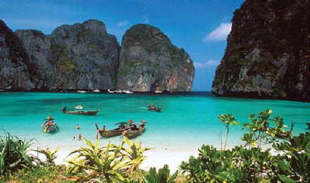 普吉岛/甲米/兰塔出发 皮皮岛 竹子岛/蛋岛一日游 泰国旅游(浮潜 午餐