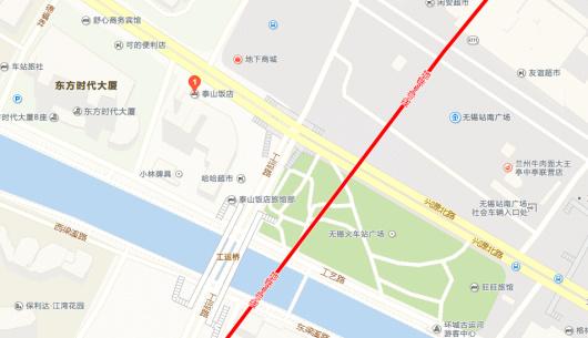 无锡蠡园周边地图