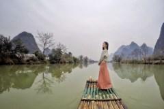 漓江俯瞰,遇龙漂流,上山下水品桂林(含小众景点攻略)