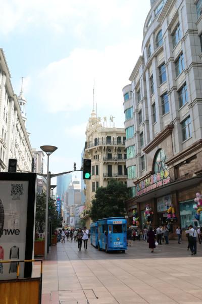 梦幻南京路步行街图片