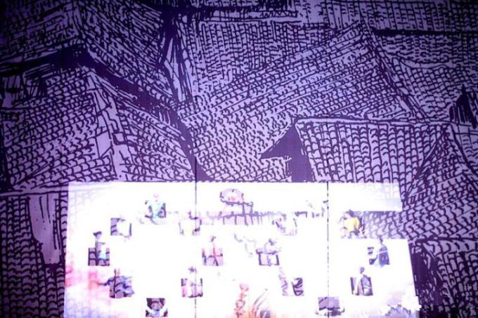 《天府蜀韵》是一部由成都华侨城斥巨资打造的创意剧作,定期在华侨城图片