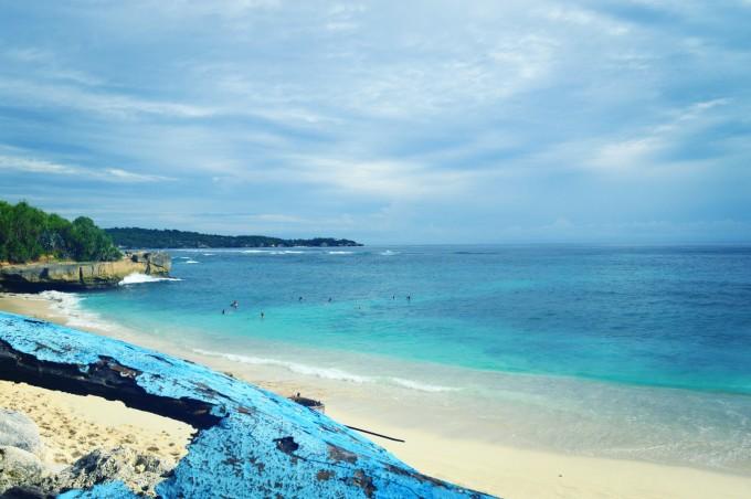 巴厘岛蓝点梦幻沙滩