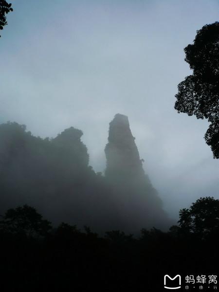 汶上琵琶山水库-犹抱琵琶半遮面 不一样的张家界武陵源 三
