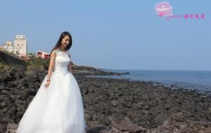 【西归浦图片】蓝天、阳光和大海,自拍、烤肉和泡面,韩国之旅开始啦(内有自拍婚纱经验)