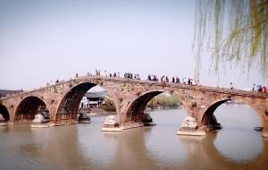 【塘栖图片】一带江堤翠柳斜,虹桥碧水万人家——塘栖、新市游