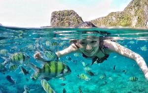【皮皮岛图片】在上帝的鱼缸,嬉鱼逐浪(甲米皮皮岛游记,含大量水下攻略)