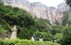 【雁荡山图片】雁荡山游览之三 -------  灵岩(小龙湫)景区