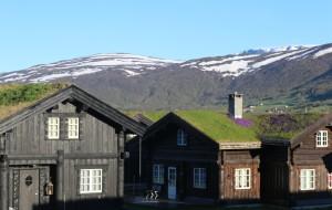 【挪威图片】北欧挪威游之...夜宿盖罗滑雪小镇小木屋风景随拍
