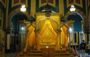 【棉兰图片】第二篇日记    细看苏丹王宫的收获