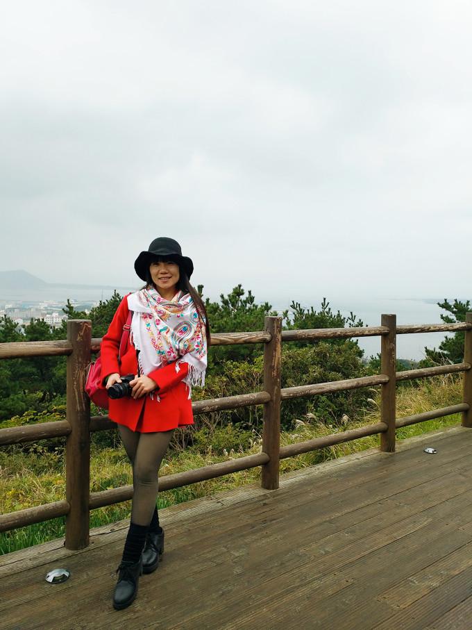 济州岛西归浦市市外长途汽车站->城山日出峰:乘坐开往济州市(东线)的