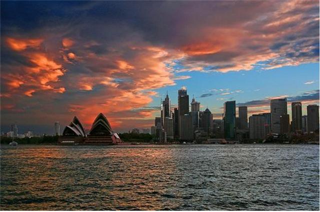 日落悉尼港——游轮晚餐巡航