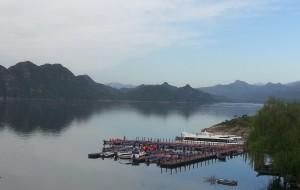 【易县图片】#一路看风景#用眼睛去旅行,易水湖的水、狼牙山的峰