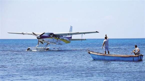 【高逼格起飞点】三亚水上飞机