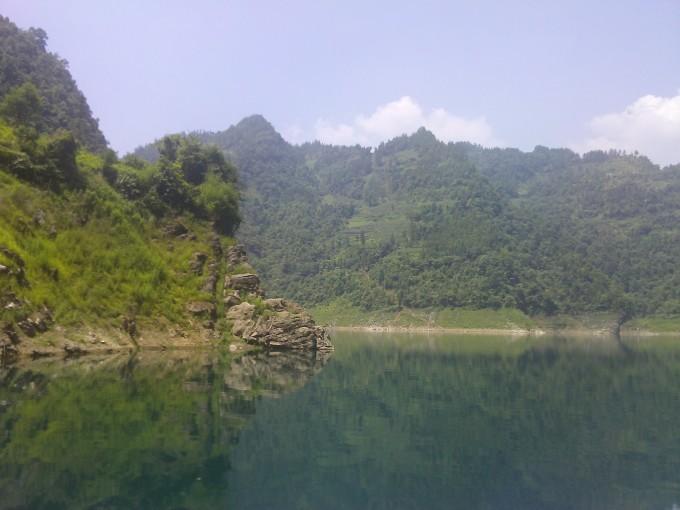 山水宜人----鹤峰芭蕉河水库(补记)