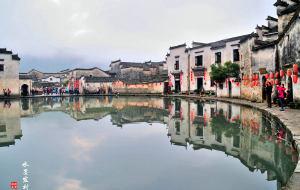 【黟县图片】宏村——中国画里的乡村