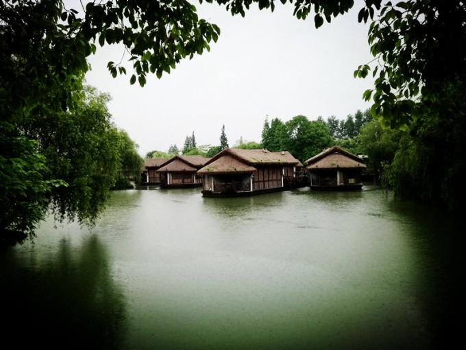 杭州风景的图画