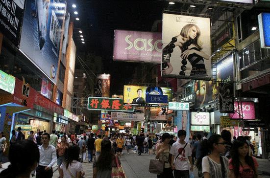 香港一日游路线
