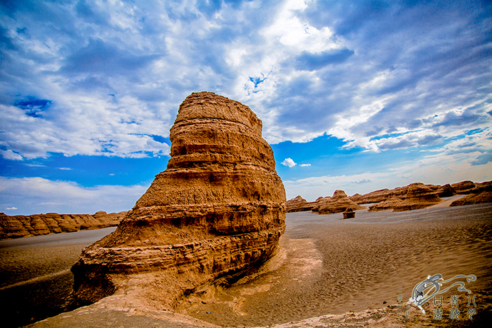 GanSu Yadan National Geological Park
