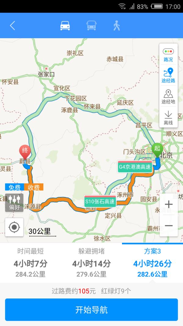 2016年十一假期蔚县茶山自驾