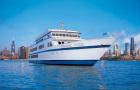 芝加哥 海军码头三道菜式西式午餐巡航 (ODYSSEY豪华游艇/现场音乐伴奏)